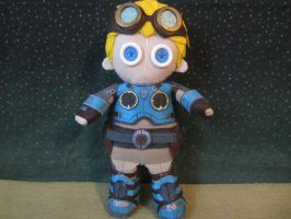 gears of war baird doll by Rei2jewels