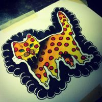 PIZZA CAT by TorieLarson