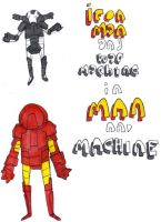 MAN AND MACHINE pg1 by MANeatingCLOTHES