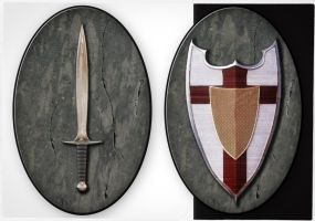 Sword and Shield Tokens by JHibbs