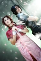 Final Fantasy VII: Zack and Aerith. by DidsRainfall
