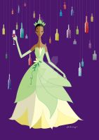 Origami - Tiana by AmadeuxWay