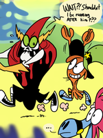 Wander Over Yonder - Lord Hater 02 by theEyZmaster