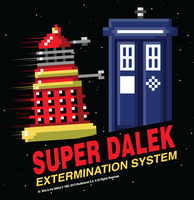 Super Dalek Extermination System by xkappax