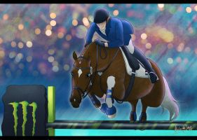 Jamjali's Olympics 3DE - Show Jumping by AliceYung