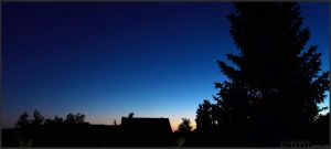 still sleepless at 4:46am by airglow