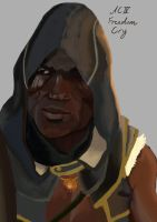 Adewale Freedom Cry Assassin's Creed IV Black Flag by vincentdarkheart