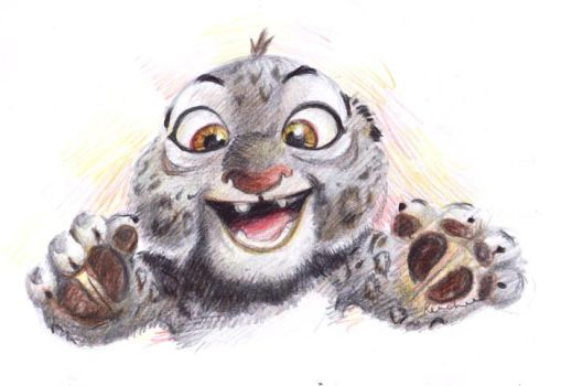 Chibi Tai Lung by Renchee