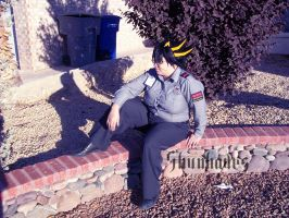 Yu-Gi-Oh 5D's: Security Guard Yusei by Shunhades