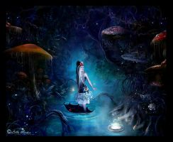 ... in Wonderland by Lillucyka by Realm-of-Fantasy