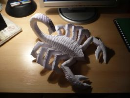 Origami scorpion by frecmenta