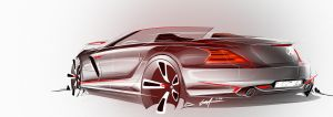 Mercedes Benz Sports Car Concept by Whitesnake16