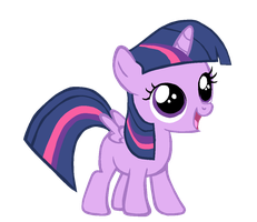 Filly Alicorn Twilight by Bronyboy