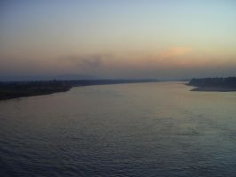 Sunset on the Nile. by 093374