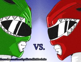 Green Vs. Red by UBob