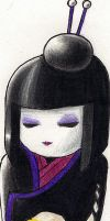 Death Kokeshi by Mistress-D