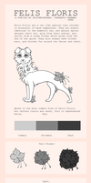 Felis Floris (Petal Cats) OPEN SPECIES by DriftwoodBones