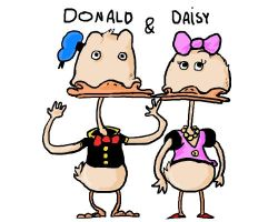 donald and daisy by dagove