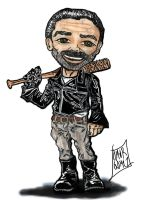 Negan And Lucille by UrsusOmar