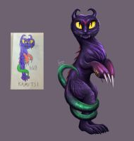 Childhood monster coming alive by Linzu