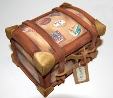Money box suitcase by knil-maloon