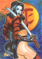 SHI AE SKETCH CARD by AHochrein2010