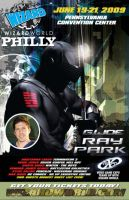 Ray Park Poster for Convention by escar4