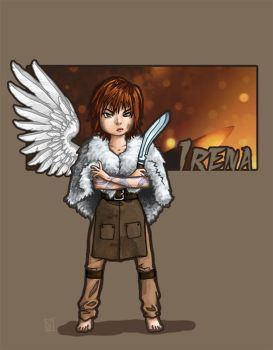 Irena by RecoveringZombie