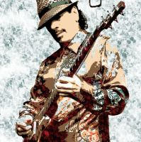 Carlos Santana in Action by bobxlevi90