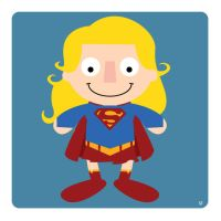 supergirl by striffle