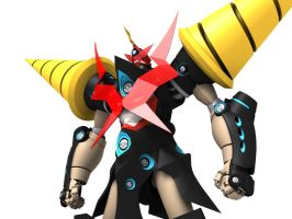 3D Chouginga GL Low Angle by Ultimatetransfan