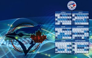 Jays 2013 Schedule Wallpaper by bbboz