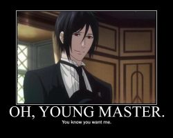 Oh, Young master... by Tsukeh