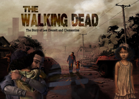Walking Dead fanart poster by typicaljacob