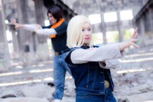 Android 18 / Android 17 - Attack by cloeth