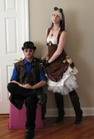 Steam Couple 30 by KristabellaDC3