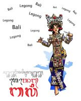 Indonesian Dance No.2 by refudger