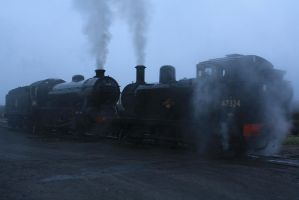 Steam In The Mist by CJSutcliffe