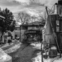 The Back Alley in Taos by dkwynia