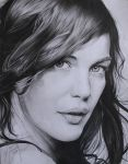 LIV TYLER - Drawing by MAUZIS