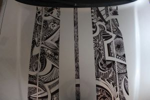 Sharpie Art Car Detailing by CHADtheMAD