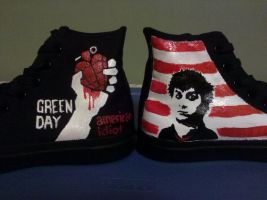 American Idiot Converse by SweeneyxLovett4ever