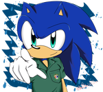 Sonic Student! by 1412Shadow
