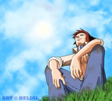 Sunny Day Satou by demonbelial