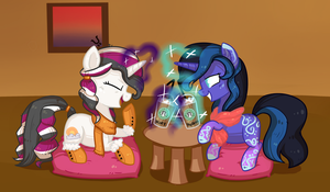 Starbucks - Collab with Reporter-Derpy by FellowPegasister