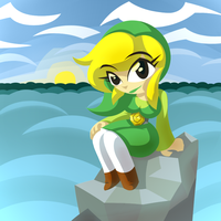Art Trade - Toon Link TG by Quarma