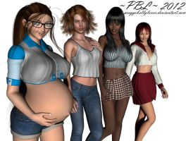 Expansion! Choose a belly... by PreggoBellyLover