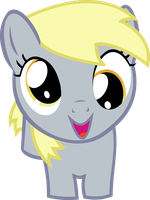 Filly Derpy vector by chrisgotjar