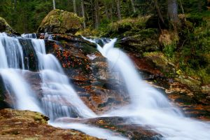 Small waterfall by gathrawn82