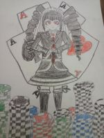 Celestia Ludenberg by Burntcookies1
